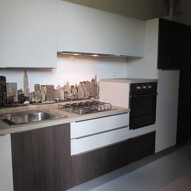 Arredamento appartamento open space realizzato a imola for Arredamento appartamento completo