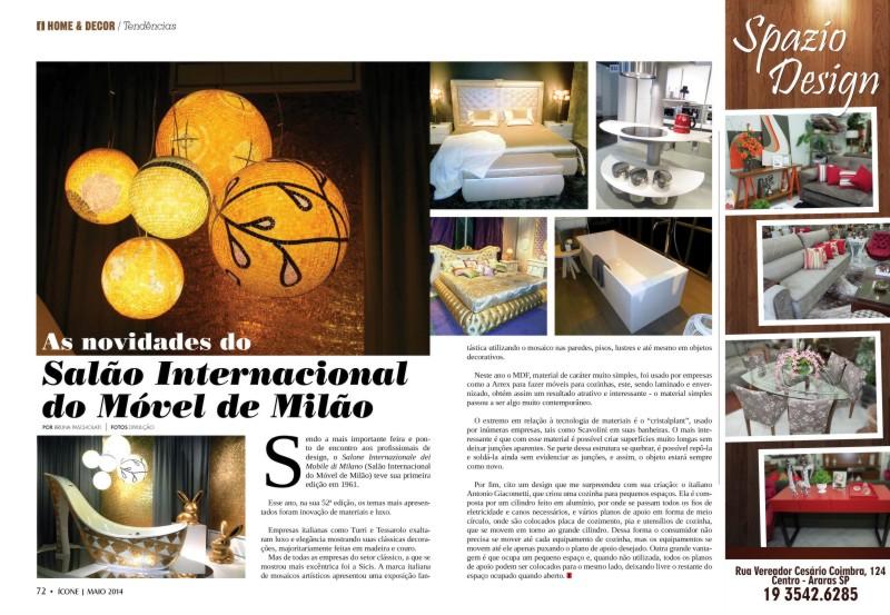 stampa brasile brasiliana cucina salone del mobile milano