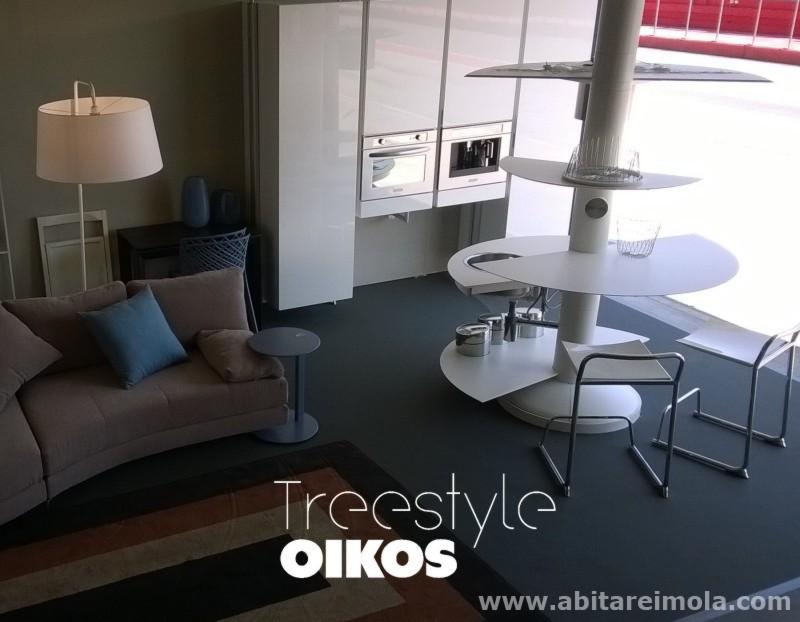 cucina centro stanza isola oikos bianca ergonomy innovation furniture kitchen island disabile
