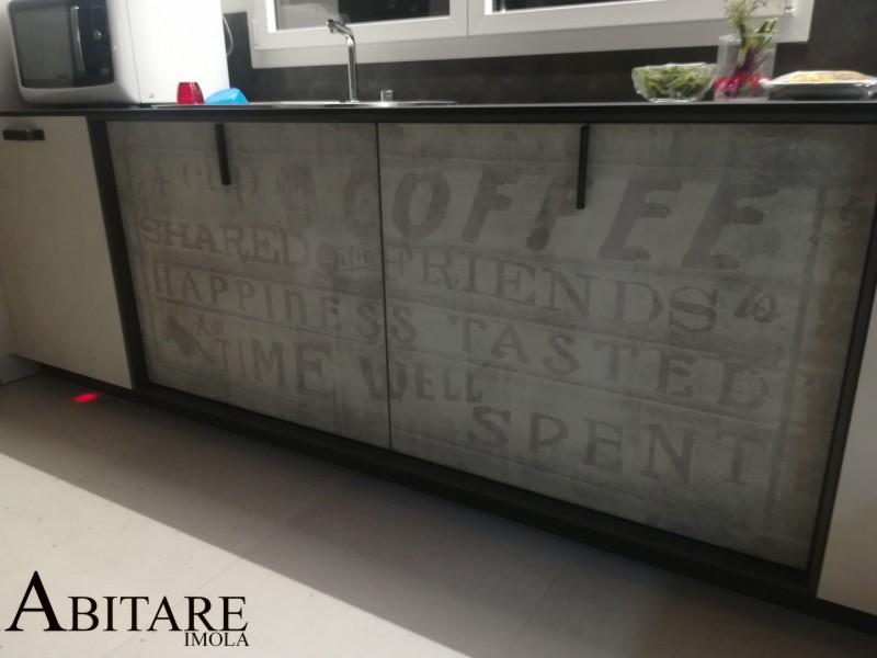 arredamento bologna cucina loft snaidero serigrafia sottofinestra cucine castenaso ozzano emilia arredare casa imola piano laminato ambienti