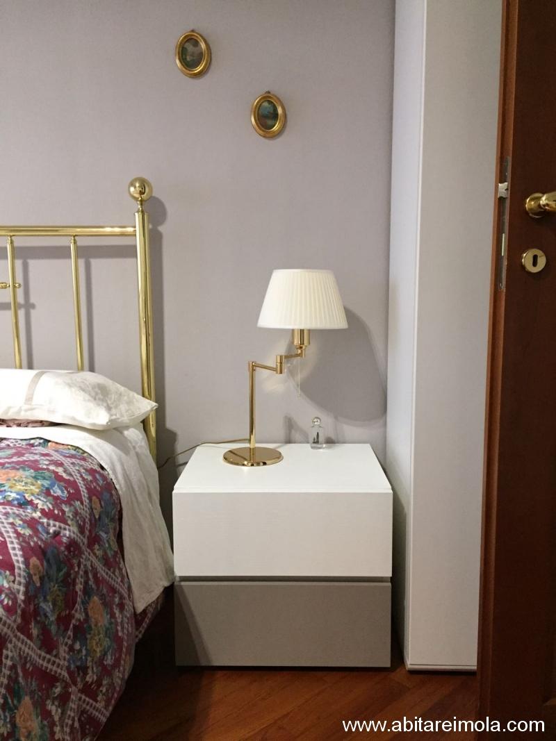 letto ottone arredamenti imola mobilificio abitare comodino laccato vintage bologna san lazzaro ozzano emilia
