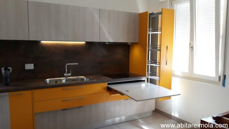 cucina-elle75-moderna-componibile-lavello-monovasca-piano-hpl-arredamento-arredare-casa-cucine-design-interni arredare-imola-bologna-medicina-castenaso-reda-faenza