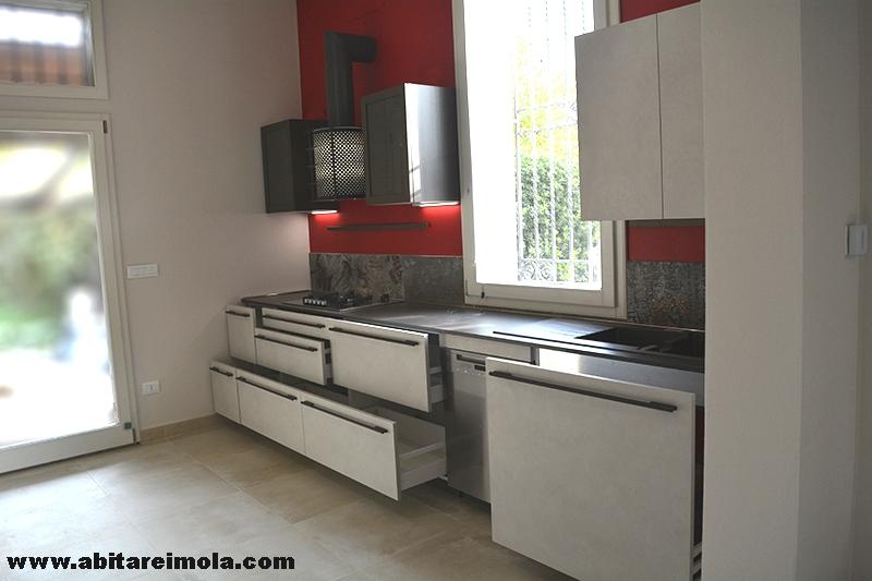 Lavello Cucina Arredamento.Cucina Sotto Finestra Snaidero Open Space Arredamenti