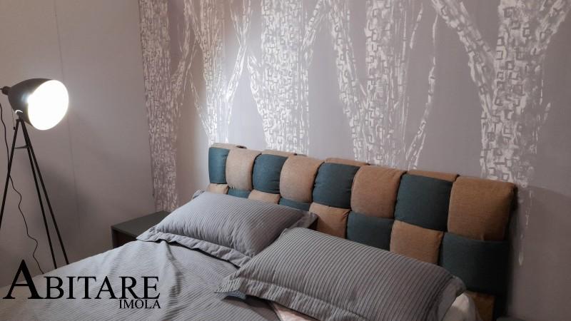 letto imbottito contenitore intreccio camera da letto matrimoniale arredare casa bologna faenza imola fontanelice lugo interior design