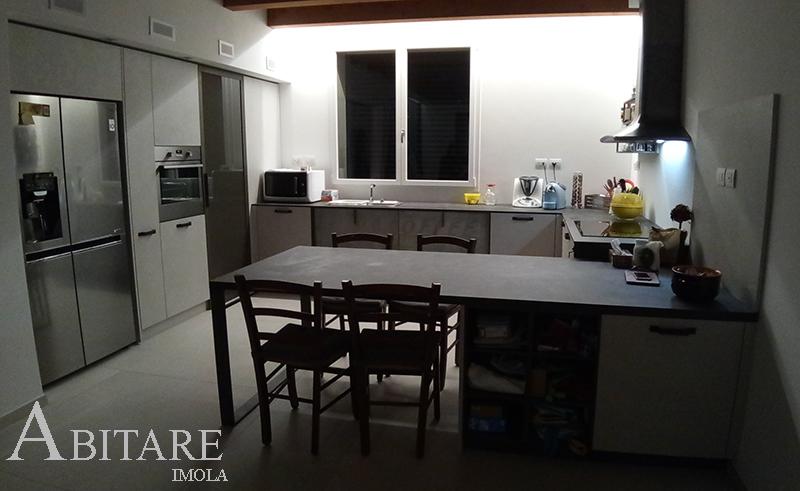 oft cucina penisola dispensa cabina lavello sotto finestra cappa sweet arredare casa cucine componibilii lugo ravenna bologna
