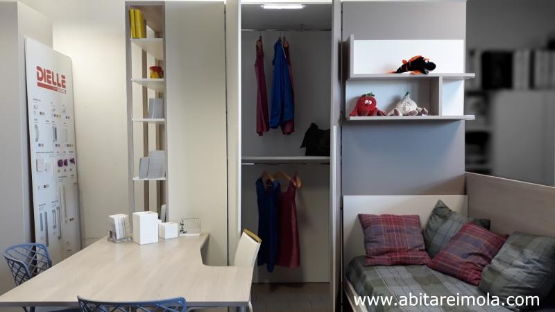 cabina armadio x-cab dielle doimo forme pulite camerette negozio nuove soluzioni di arredamento imola bologna provincia arredare casa
